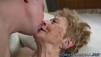 Granny Blowjob Fingering Mature