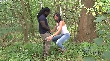 Austrian Black Outdoor Deepthroat