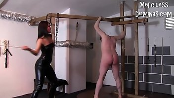 Screaming BDSM Fetish Whipping