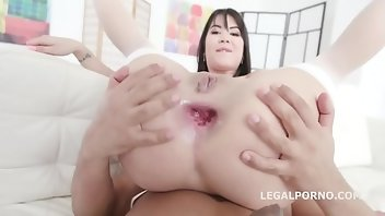 Cum Swallowing Anal Interracial Blowjob