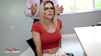 Drugged Blonde Creampie MILF