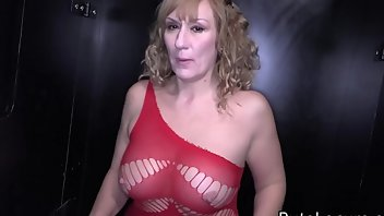 Gloryhole Boobs Blonde MILF