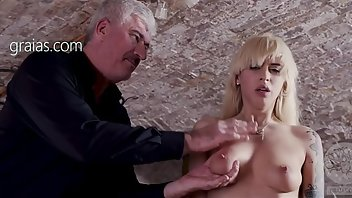 Electro Blonde BDSM Fetish