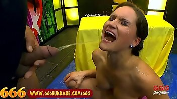 Golden Shower Handjob Brunette Doggystyle