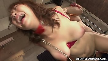 Double Penetration Brunette Lingerie Asian