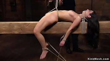 Hogtied Hardcore Rough Gagging BDSM