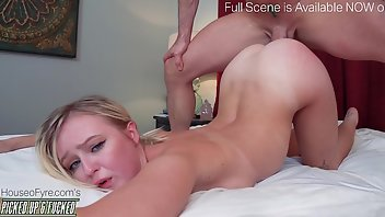 Flexible Teen Blonde Creampie