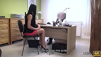 Agent Teen Blowjob Brunette