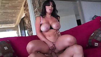 Striptease Pornstar MILF Brunette