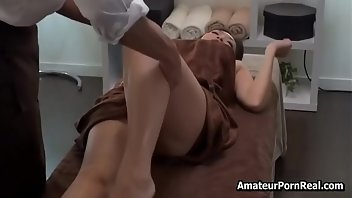 Japanese Massage MILF Mature Hairy